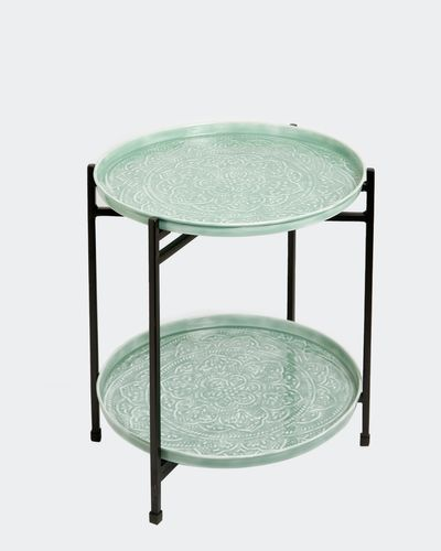 Carolyn Donnelly Eclectic Enamel Side Table thumbnail