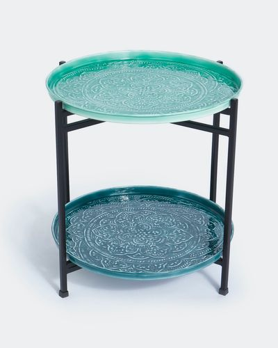 Carolyn Donnelly Eclectic Enamel Side Table