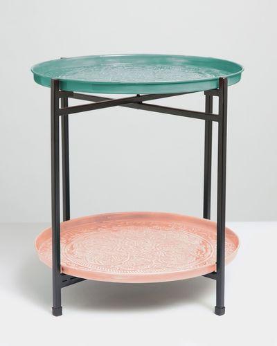 Carolyn Donnelly Eclectic Enamel Side Table