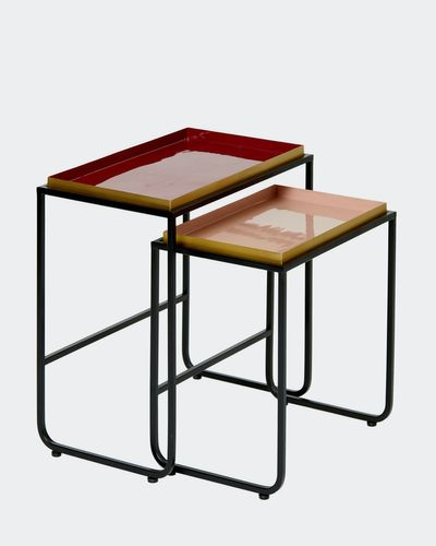 Carolyn Donnelly Eclectic Rectangular Tray Table