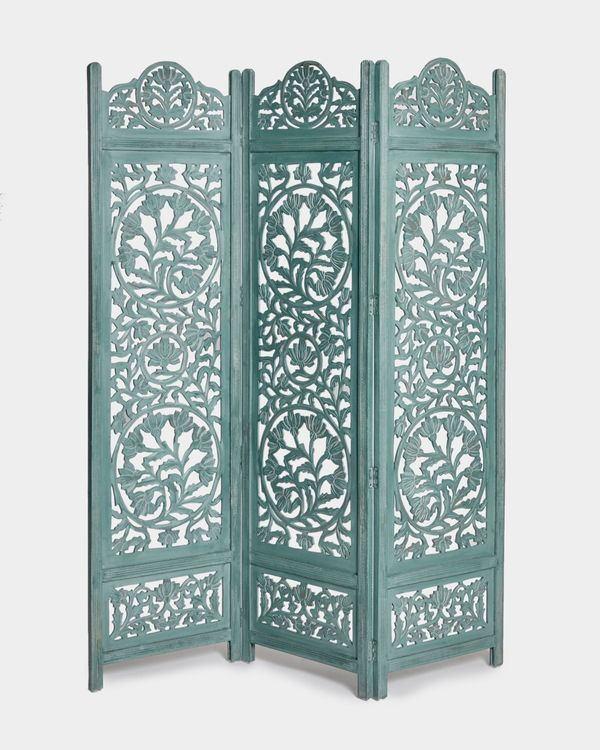 Carolyn Donnelly Eclectic Wooden Screen