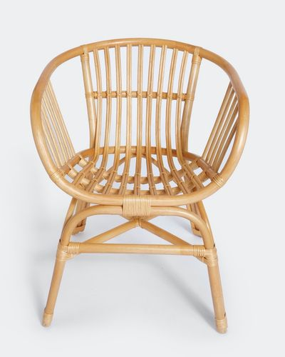 Carolyn Donnelly Eclectic Rattan Chair