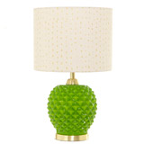 green Carolyn Donnelly Eclectic Olive Table Lamp