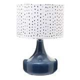 navy Carolyn Donnelly Eclectic Urma Table Lamp