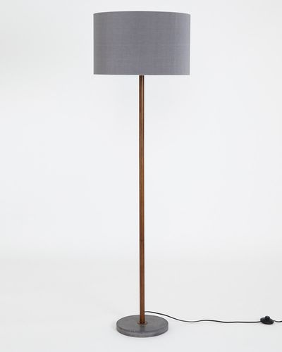 Carolyn Donnelly Eclectic Cement Floor Lamp