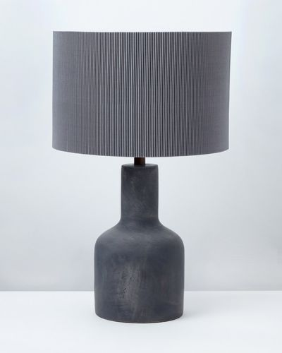 Carolyn Donnelly Eclectic Cement Table Lamp