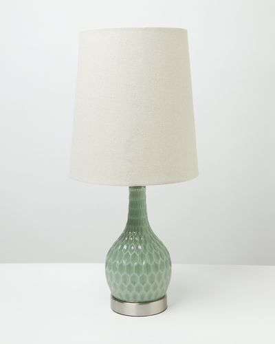 Carolyn Donnelly Eclectic Glass Lamp