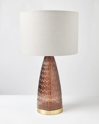 Carolyn Donnelly Eclectic Ripple Glass Lamp