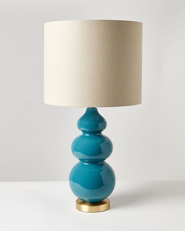 Carolyn Donnelly Eclectic Curve Glass Lamp