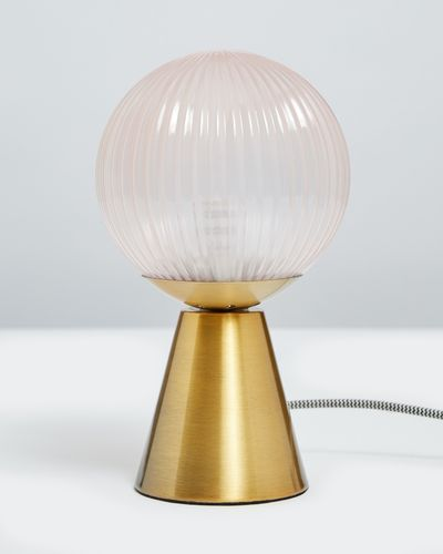 Carolyn Donnelly Eclectic Globe Lamp