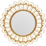 gold Carolyn Donnelly Eclectic Java Mirror