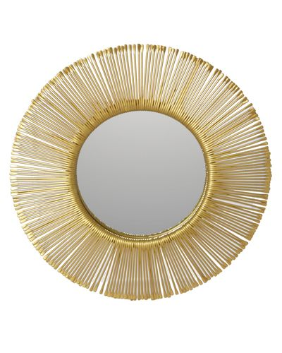 Carolyn Donnelly Eclectic Sundial Mirror