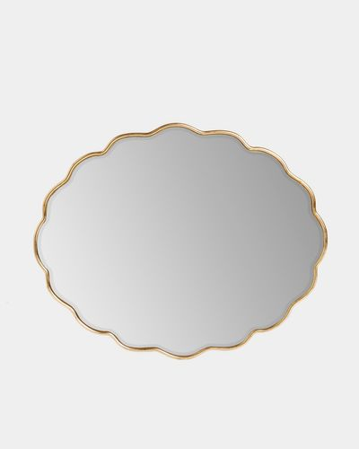 Carolyn Donnelly Eclectic Scalloped Mirror