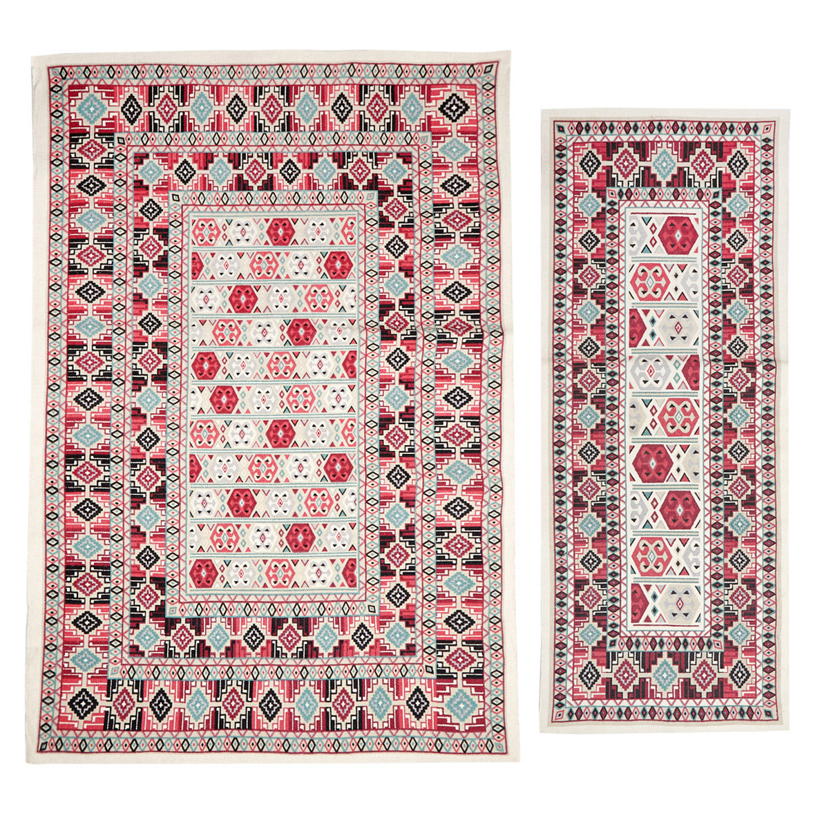 Red Carolyn Donnelly Eclectic Arabian Rug