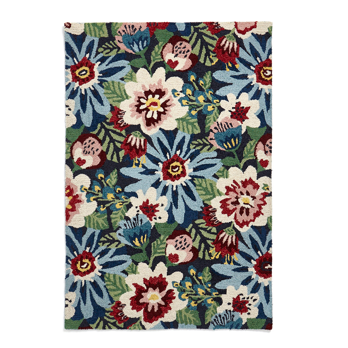 Carolyn Donnelly Eclectic Bloom Wool Rug