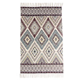 multi Carolyn Donnelly Eclectic Diamond Geo Printed Rug