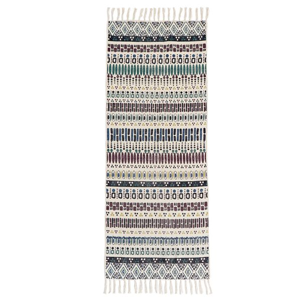 Carolyn Donnelly Eclectic Diamond Geo Print Runner