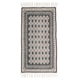 black Carolyn Donnelly Eclectic Printed Bloom Mat