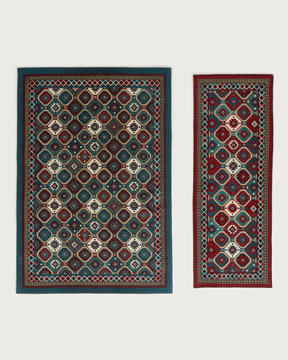 Ruby Carolyn Donnelly Eclectic Sahara Rug