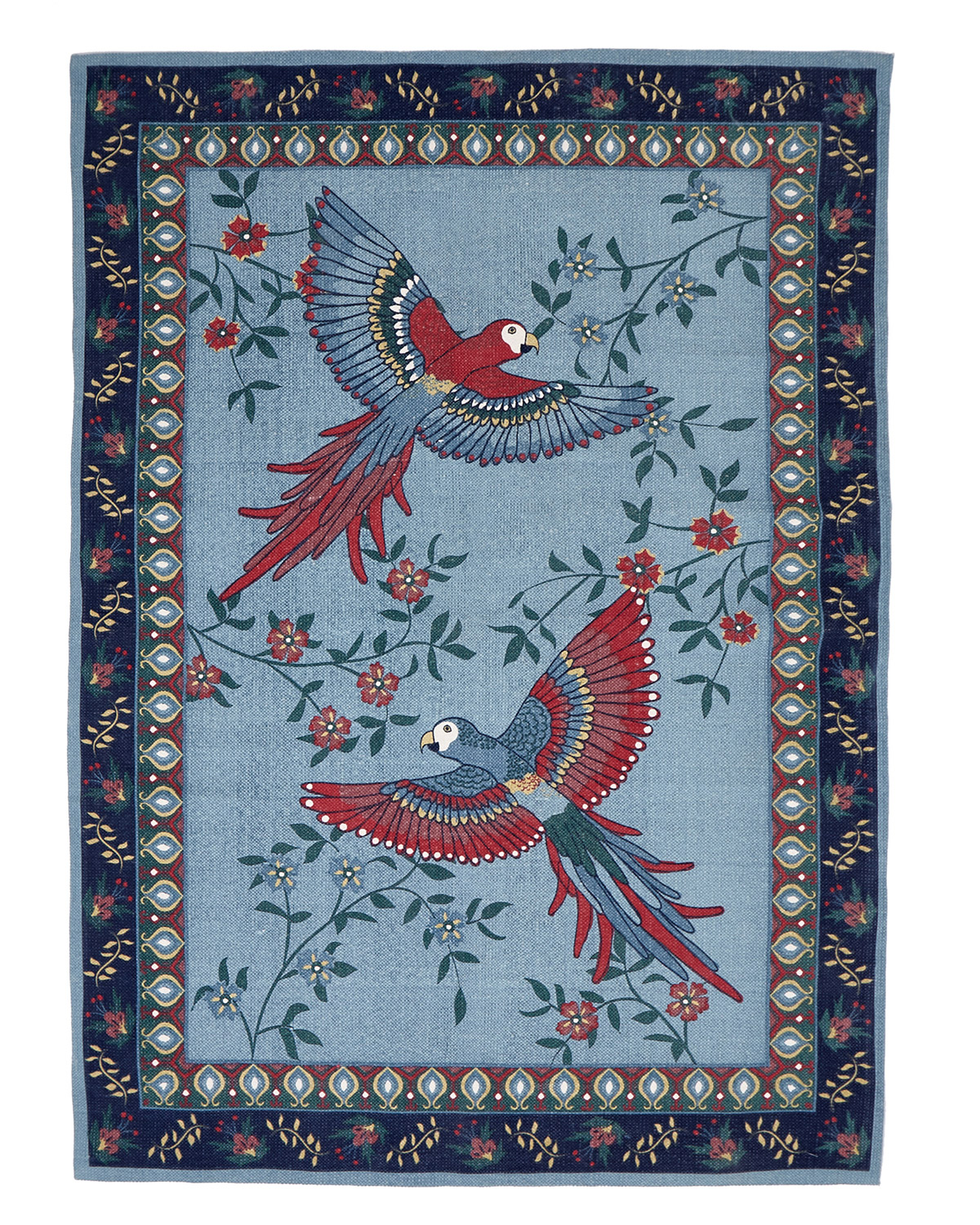 Blue Carolyn Donnelly Eclectic Birds Of