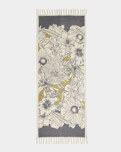 Carolyn Donnelly Eclectic Graphic Floral Runner