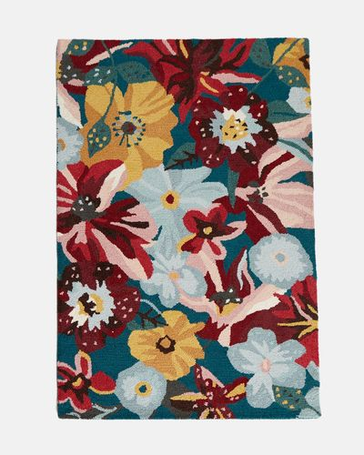 Carolyn Donnelly Eclectic Flowery Rug