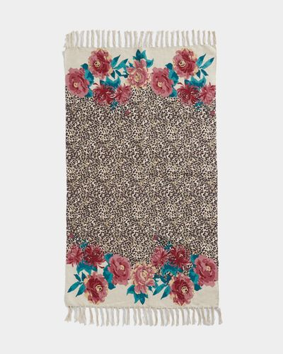 Carolyn Donnelly Eclectic Animal Floral Mat