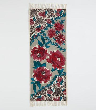 Carolyn Donnelly Eclectic Animal Floral Runner