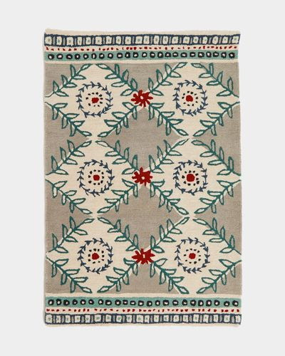 Carolyn Donnelly Eclectic Sprig Wool Rug
