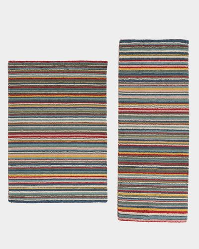 Carolyn Donnelly Eclectic Stripe Wool Rug