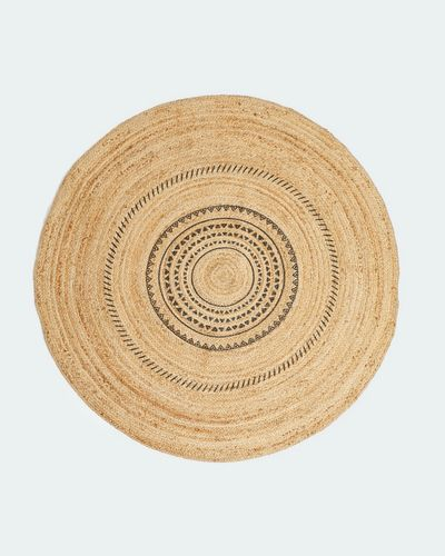 Carolyn Donnelly Eclectic Printed Jute Rug thumbnail