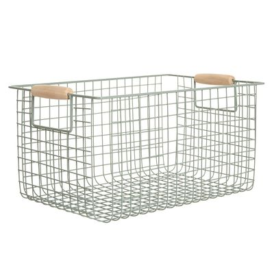 Carolyn Donnelly Eclectic Metal Storage Basket thumbnail