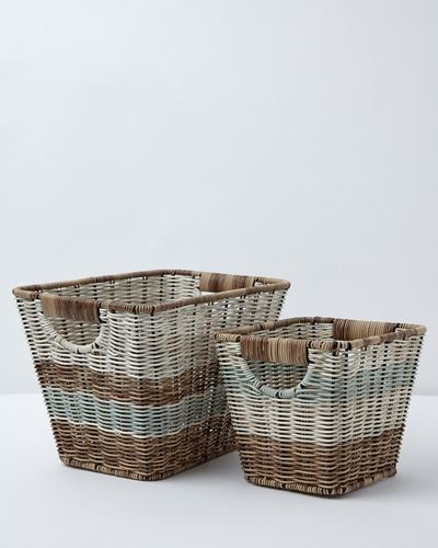 Carolyn Donnelly Eclectic Bali Rectangular Basket
