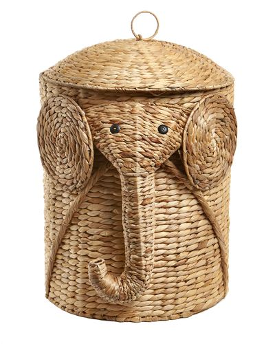 Carolyn Donnelly Eclectic Elephant Storage Basket thumbnail