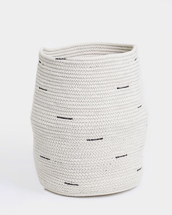 Carolyn Donnelly Eclectic Coil Rope Storage Basket