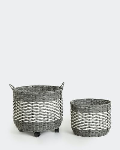 Carolyn Donnelly Eclectic Halong Polyrattan Basket