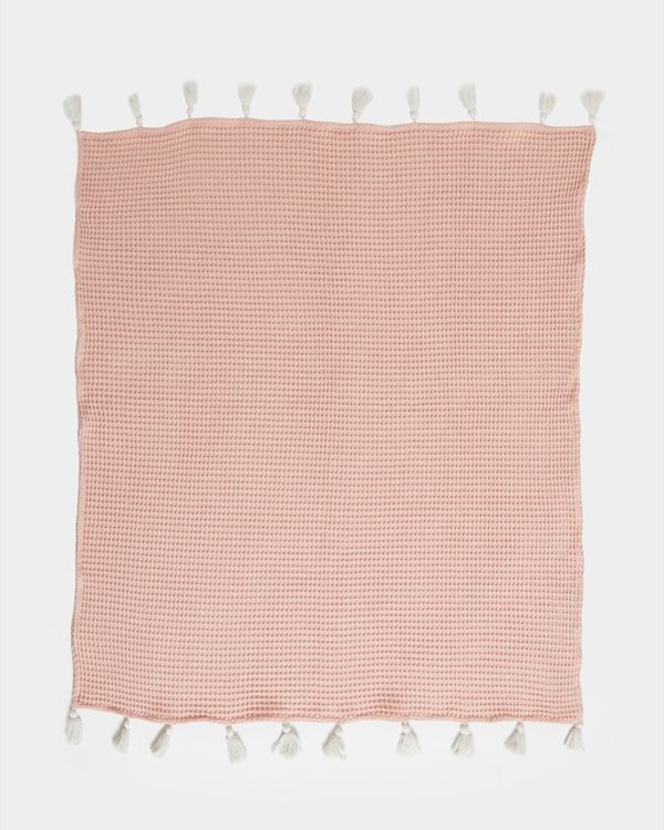 Carolyn Donnelly Eclectic Waffle Throw