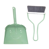 mint Carolyn Donnelly Eclectic Dustpan And Brush