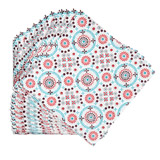 aqua Carolyn Donnelly Eclectic Paper Napkins - Pack Of 20