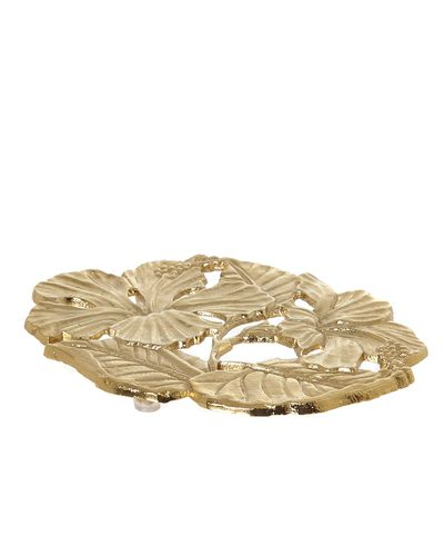 Carolyn Donnelly Eclectic Flower Trivet