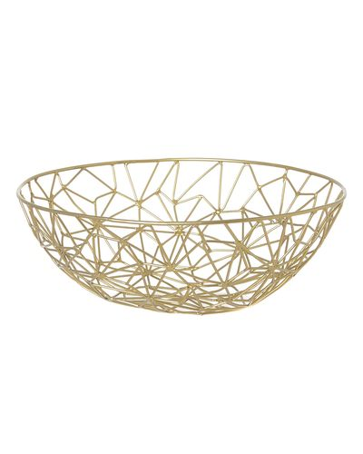 Carolyn Donnelly Eclectic Geo Wire Fruit Bowl