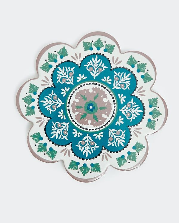 Carolyn Donnelly Eclectic Ceramic Coaster