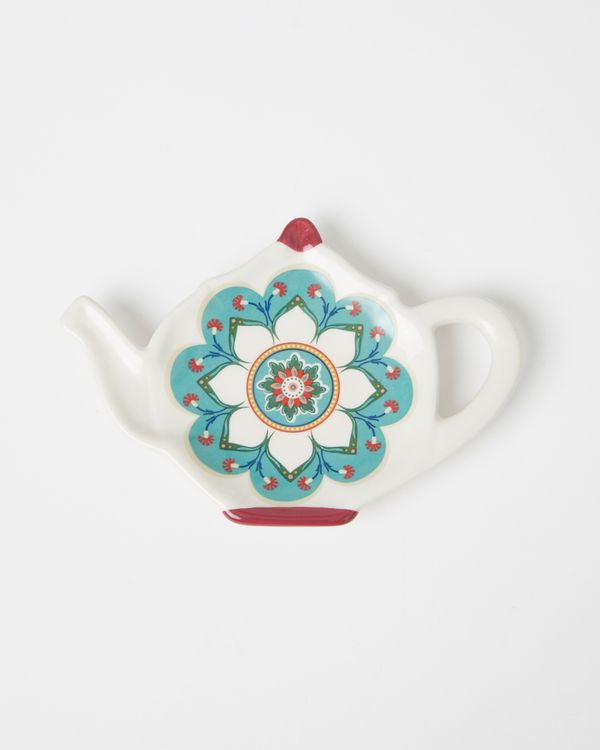 Carolyn Donnelly Eclectic Ceramic Teabag Rest