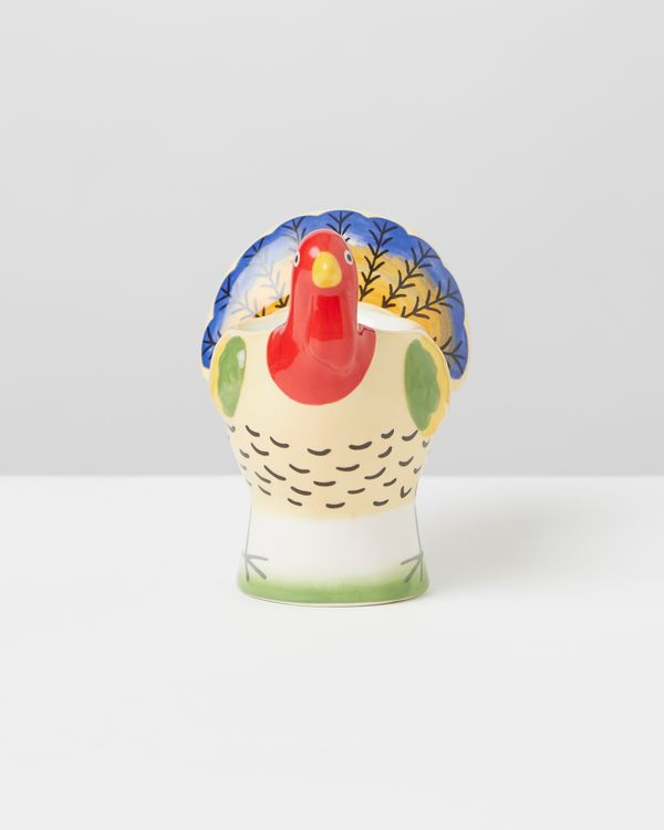 Carolyn Donnelly Eclectic Ceramic Turkey Egg Cup