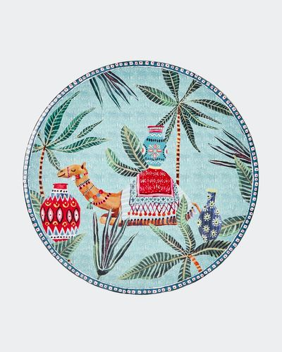 Carolyn Donnelly Eclectic Ceramic Circle Trivet