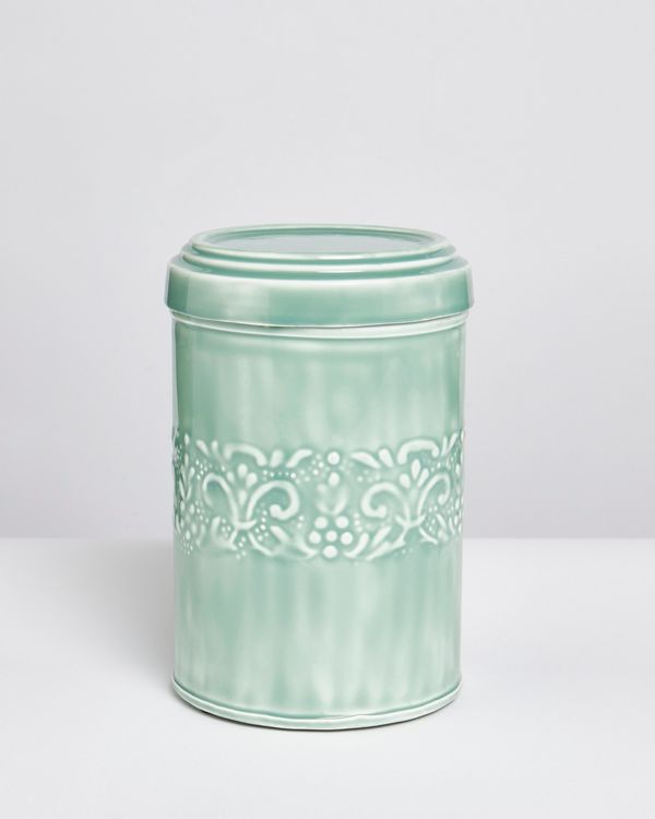 Carolyn Donnelly Eclectic Enamel Biscuit Tin