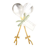 gold Carolyn Donnelly Eclectic Dragonfly Serving Spoon Set