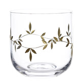 gold Carolyn Donnelly Eclectic Gold Leaf Tumbler