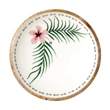 ivory Carolyn Donnelly Eclectic Magnolia Bowl