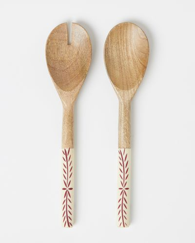Carolyn Donnelly Eclectic Serving Spoons - Set Of 2 thumbnail